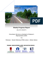 Weekly Progress Report(Cover Page)
