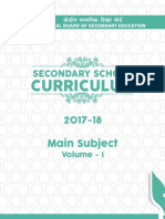 Secondary School 2017-18 Volume 1