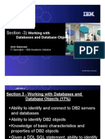 3) Working With Databases and Database Objects Ppt