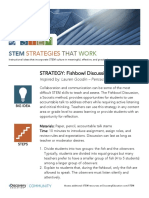 stem strategies that work - fishbowl discussions