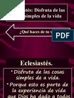 Eclesiastés IBE Callao #6