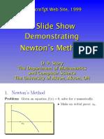 Story - Newton Method