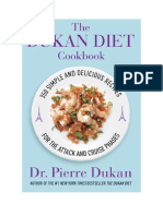 PDF eBook the Dukan Diet Cookbook by Dr Pierre Dukan Download Book
