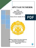 UAS Komputasi Numerik Diah Laraswati