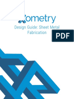Design Guide Sheetmetal 2016