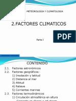 Factores clmaticos