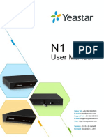 Yeastar N1 Telephone System User Manual En