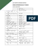 3ro Guia Ejercicios Ecuaciones Exponenciales