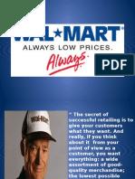 Strategic Plan Walmart Ppt