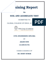 Soil and Aggregate Test Front