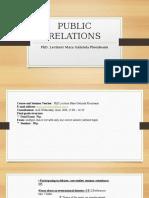 Course and Seminar Presentation