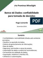Hugo_Banco de Dados_Confiabilidade Para Tomada de Decisões_Seminario Prominas 2010