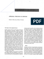 Ellsworth, p. c., Scherer, r. k. Appraisal Process in Emotion