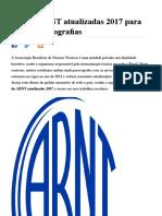 Regras ABNT Atualizadas 2017 Para TCC e Monografias 2013 MundodasTribos 2013 Todas as Tribos Em Um Unico l