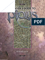 Ptolus Player's Guide