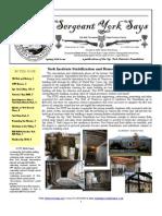 Sergeant York Says Newsletter (Spring 2010)