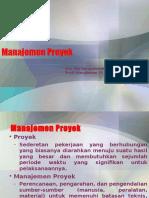 3. Manajemen Proyek