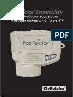SmartLink Android Manual v1.0 for PosiTector 6000