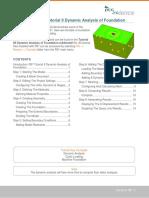Dynamic Analysis of Foundation