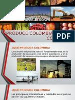 Produce Colombia Lo Que Consume