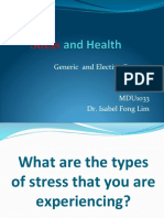 Stress and Health 2017