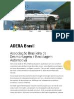 ADERA Brasil - Associação Brasileira de Desmontagem e Reciclagem Automotiva