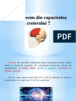 Cat Folosim Din Capacitatea Creierului