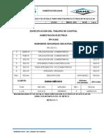 Epi- S-002 Especificación Técnica Del Tablero Decontrol