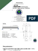 Presentasi Beton Prategang