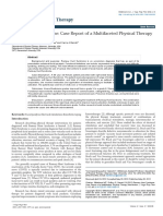 Ramsay Hunt Syndrome Case Report of a Multifaceted Physical Therapy Intervention 2157 7595.1000115