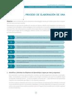 II. Guía Para El Proceso de Elaboración de La Planificación