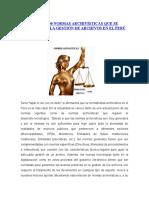 Más de 100 Normas Archivísticas Que Se Utilizan en La Gestión de Archivos en El Perú