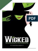 Wicked Libreto.