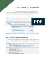 Tecnologías de Control y Supervisión Industrial