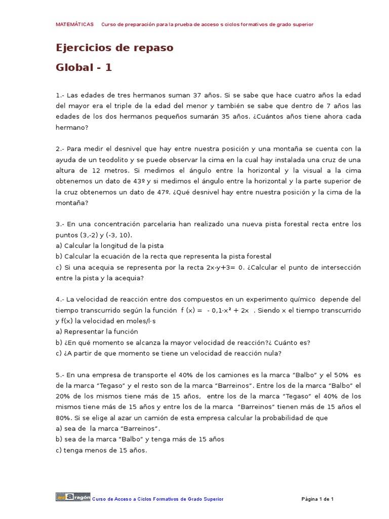 Examen Mat Global 1 Doc