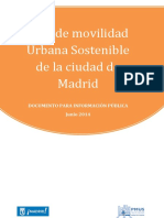 Plan de Movilidad de Madrid JGobierno 26junio2014