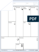 Business Model Canvas Letter