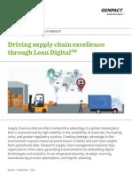 Driving Supply Chain Excellence Through Lean Digital