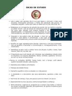 Dicas de Estudo - IPR