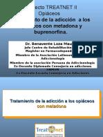 Tratamiento con Metadona y Buprenorfina