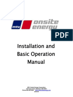 MTU Onsite Energy Installation and Basic Operation Manual 2015