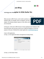 Using DB Adapter in SOA Suite 12c - Waslley Souza Blog