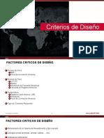1.2 Criterios Para Diseño 2013