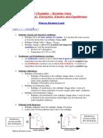 UNIT 2 Organic, Energetics, Kinetics and Equilibrium Part 1