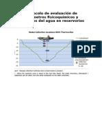 Protocolo de Evaluación de Parámetros Fisicoquímicos y Biológicos Del Agua en Reservorios