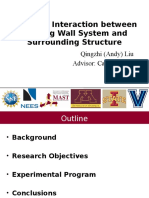 Study on Interaction between Rocking Wall System and Surrounding Structure_ACI2016_Spring_AndyLiu.pptx