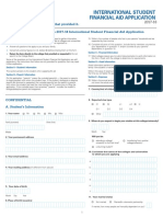 1718 International Student Financial Aid Application