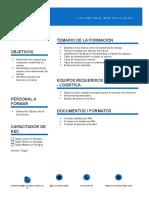 Ficha Tecnica Formacion SI - Cuidado de Manos