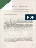 Populismos y neopopulismos en América Latina