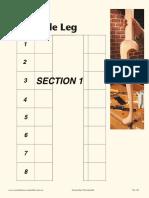 Cabriole Leg Pattern